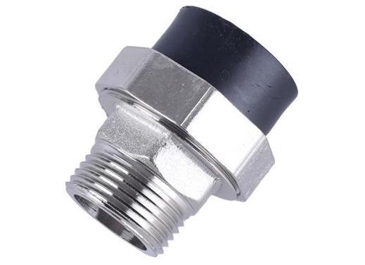 2 paquetes de metal - Sistema de rociadores zanchen Válvula Múltiple Adaptador giratorio de 1 pulgada