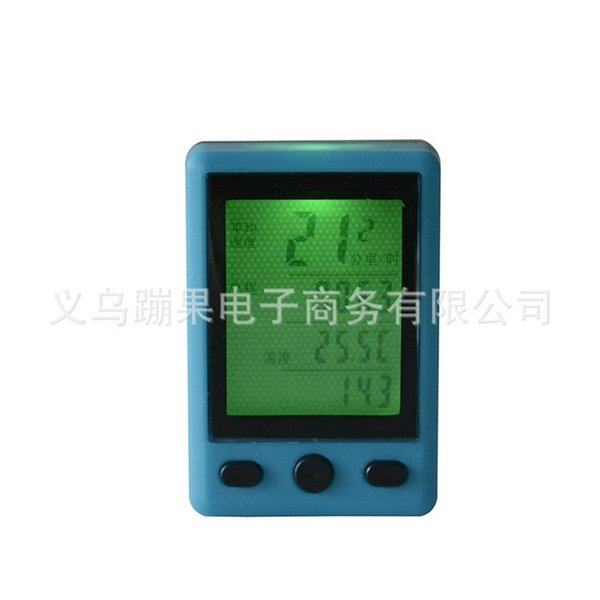 Water Proof Bike Computers Night Luminous Odometer Lcd Colorful Fashion Creative Portable Square Anti Wear Bicycle Speedometer 18pg jj