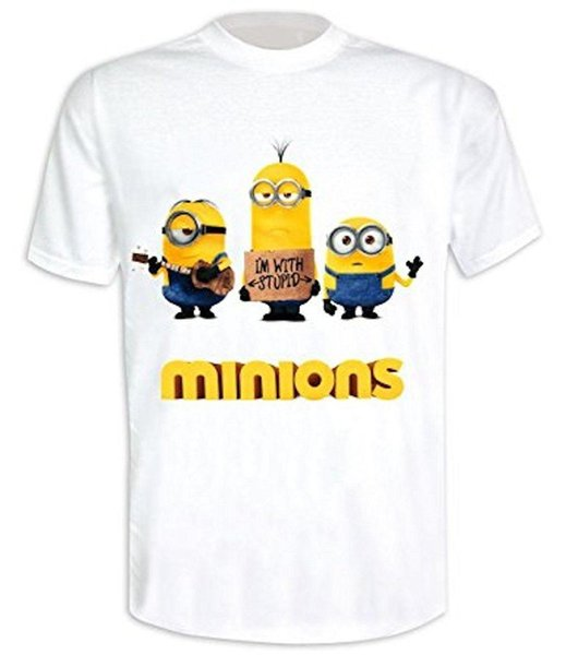 CATTIVISSIMO ME (MINION) - I'm con Stupid - Camiseta Ufficiale Uomo