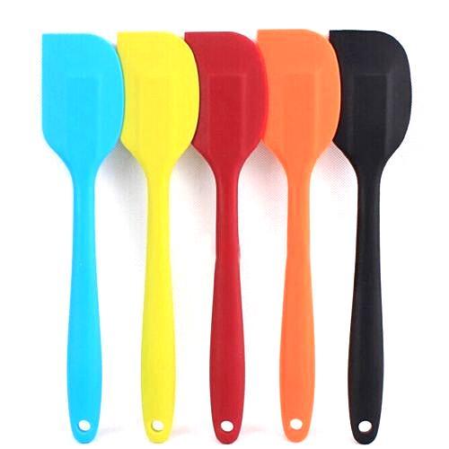Spatule en silicone résistant à la chaleur polyvalente Silicone pur, colorez au hasard T1121 P12 0.5