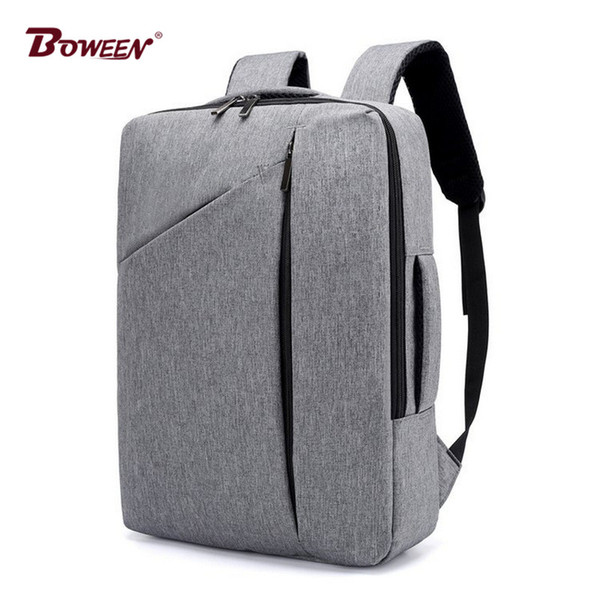 business Backpack men quality oxford multifunction laptop Back pack male bag 2018 new large capacity computer bagpack youth