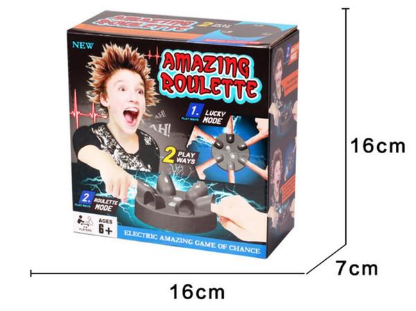10 parça Parmak elektrik çarpması elektrik yalan dedektörü dört şanslı tekerlek çaylak doğru macera yaratıcı kurulu oyunu dekompresyon oyuncak