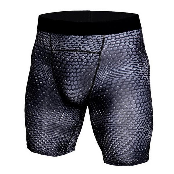 CALOFE Men Quick Dry Gym Sport Leggings For Fitness Men's Shorts Soccer 3D Print Jogging Pro Compression Tights Running Shorts