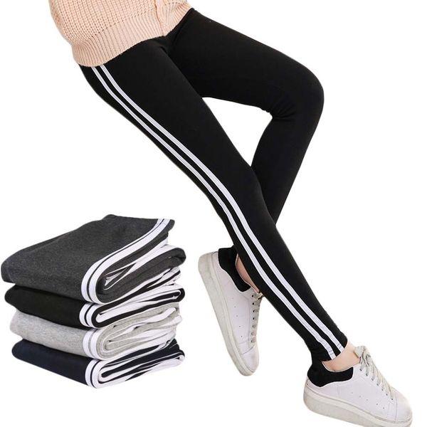 Women Lady Activewear Black Legging Spring Summer light grey Pant Autumn Mid Waist Leggins Original Order