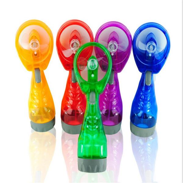Mini Hand Held Spray Portable Travel Handle Water Spray Cool Mist Fan Bottle Mist Sport Travel Beach Camp