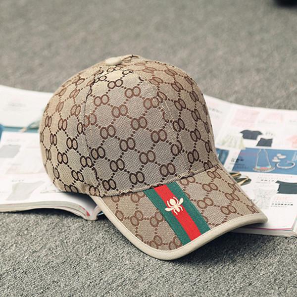 Vendita calda uomini donne cappelli moda tendenze ape berretti da baseball protezione solare casquette berretto a visiera all'ingrosso
