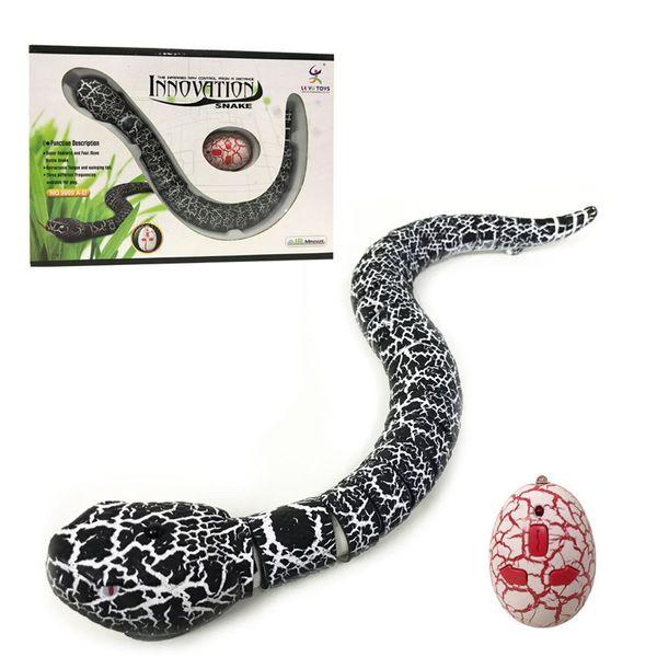 IR RC Animali Serpente a sonagli Serpente millepiedi Rettile bionico 3CH Radiocomando a distanza per controllo radio Serpenti Chilopod Sonaglio Tricky Cervello Giocattoli OTH736