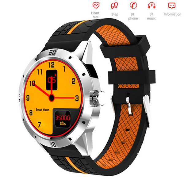 N6 Smart Watch con controllo remoto della fotocamera Contapassi Sports Fitness Tracker Cardiofrequenzimetro orologio da polso Drop ship