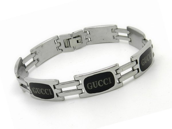 Hot High Quality Celebrity design Letter Metal Buckle Badge bracelet Fashion Metal Cuff bracelet Jewelry More Style