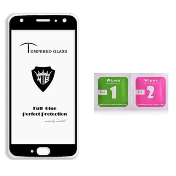 Pellicola proteggi schermo in vetro temperato per telefoni ZTE Modelli 9H vetro temperato Full Glue Full Cover Film