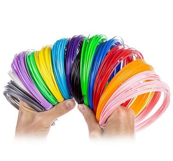 1.75mm pla filament Recargas para impresora 3D pluma 3D dawing pen educativo DIY impresora repuesto filamento