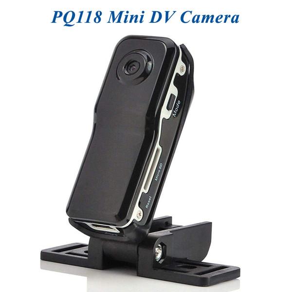 Support + Clip Caméra vidéo de sport noire Mini caméra DVR Caméra vidéo DV de sport Mini Mirco Cam PQ118