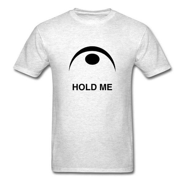 Order T Shirts Crew Neck Fermata Symbol Hold Me Short Sleeve Office Mens Tee