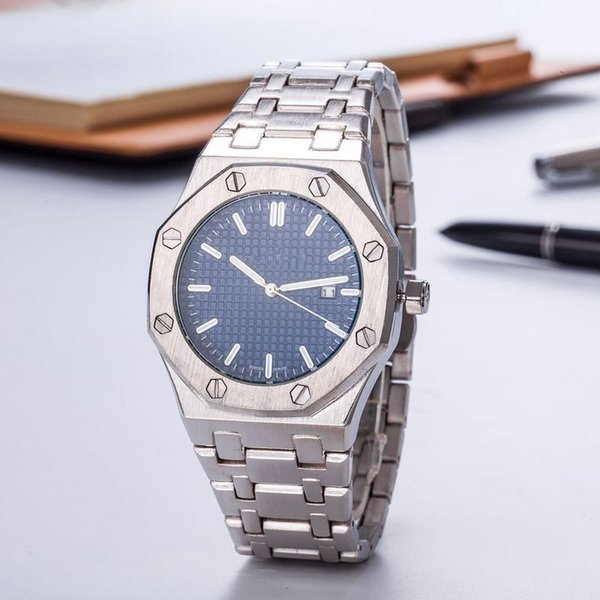 2019 Luxury Watch For Men Fashion Classic Style 40mm Stainless Steel Strap High Quality Automatic Movement Wristwatches Sapphire 15400ST