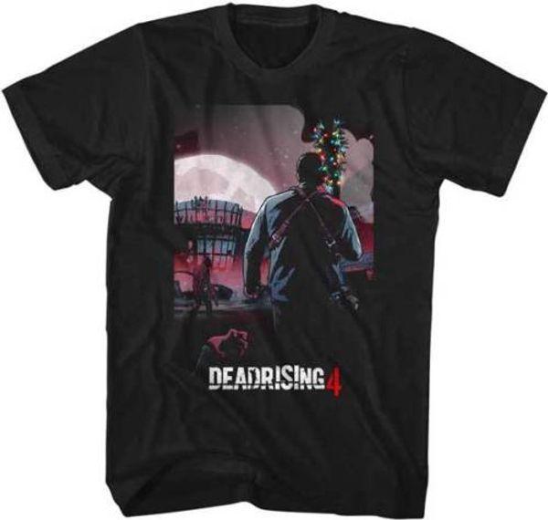 Dead Rising 4 Capcom X Box 360 Videojuego Batmas T Shirt Personalidad 2018 Marca de manga corta Tops Tee T Shirt Top Tees