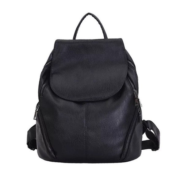 New Products Fashion Women Backpack High Quality Youth Leather Backpacks for Teenage Girls Female School Shoulder Bag Bagpack mo
