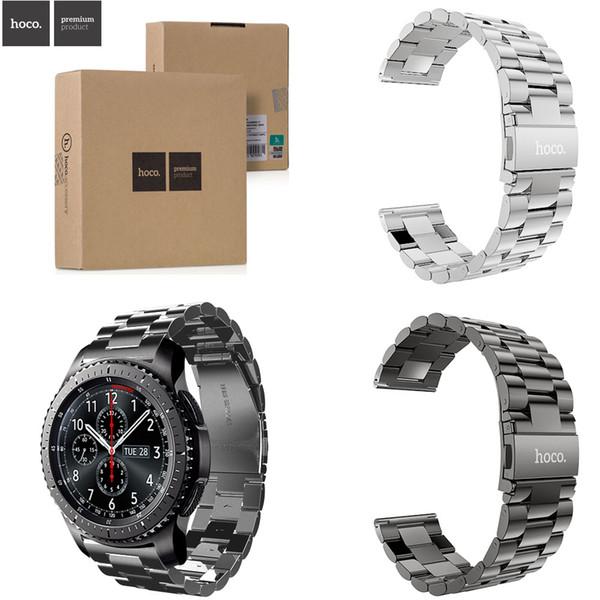 Großhandels-ursprünglicher HOCO 3 bördelt Edelstahl-Bügel 316L für Samsung-Galaxie-Gang S3 klassisches Band für Grenzgang-Armband Samsung-Gang-S3