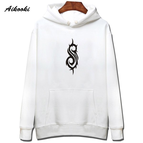 Hot Sale Slipknot Hoodies men/women 2018 Fashion Rock Band Coon Slipknot Men's Hoodies and Sweatshirt Hip Hop Warm Clothes