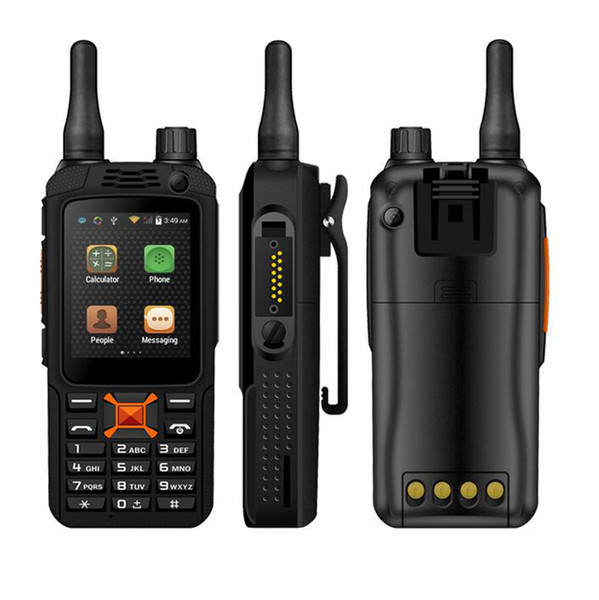 top popular original upgrade F22+ F22 Plus Android Smart outdoor Rugged Phone Walkie Talkie Zello PTT 3G Network intercom Radio Enhanced 3500mAh Battery 2019