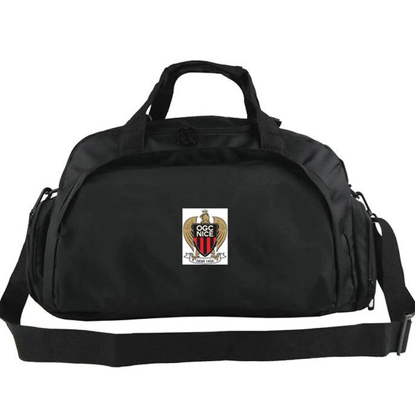 OGC Nice duffel bags Olympique Gymnaste club tote Football backpack Exercise luggage Soccer sport shoulder duffle Outdoor sling pack