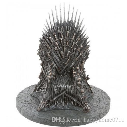 Cartoon A Song of Ice and Fire around the right game King seat 7 inch Throne 16 * 16 * 17cm hand model boxed