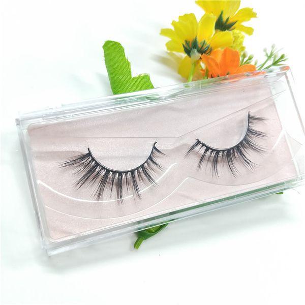 2018 Seashine Beauty mink eyelashes 3D MINK False Eyelashes Messy Cross Dramatic Fake Eye Lashes Professional Makeup Lashes free shipping