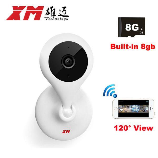 IP Camera Wireless 720P 120 degree Wide Angle Home security Camera CCTV Mini WiFi Cam Motion Alarm XMEye APP Cameras