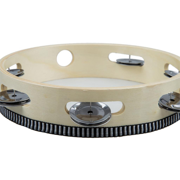 """top popular 8"""" Musical Tambourine Drum Round Percussion Gift for KTV Party 2021"""