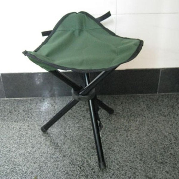 Outdoor Portable Three Legged Stools Folding Chair Seat Thicken Waterproof Oxford Cloth Have A Rest Stool Furniture 9at ii