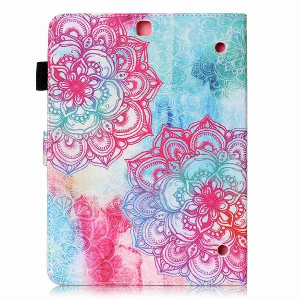 Cartoon PU Leather Cover For Samsung Galaxy Tab S2 9.7 T810 T813 T815 T819 Flip Wallet Fold Stand Tablet Case+Stylus Pen+Film