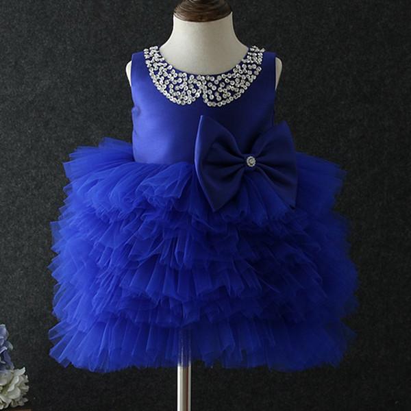 Vintage Flower Girl Dresses for Bohemian Wedding Cheap Floor Length diamond Empire Champagne Lace Ivory chiffon First Communion Dresses