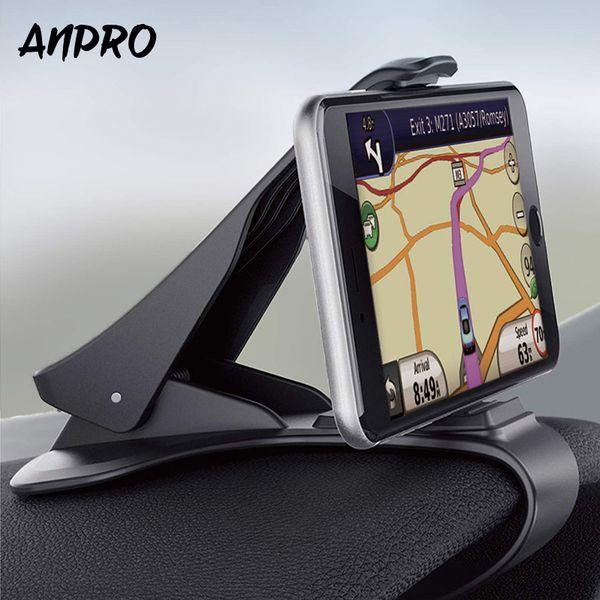 Anpro Autotelefonhalter Dashboard Mount Stand Auto Handyhalter GPS Display Halterung für iphone Xiaomi Samsung Huawei Z3