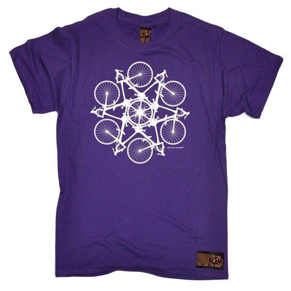 Men's Purple Small - Kaleidospoke - Cheap T shirt Fun Gift