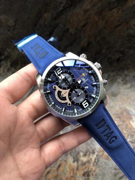 2018 Top Men Brand Sport Watch Fashion Mens watches Quartz Military Watch chronograph Man Clock Dress wristwatch luxury montre homme