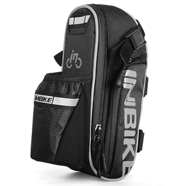 INBIKE Bicycle Saddle Bag Waterproof MTB Bike Rear Bags Seatpost Cycling Tail Bag
