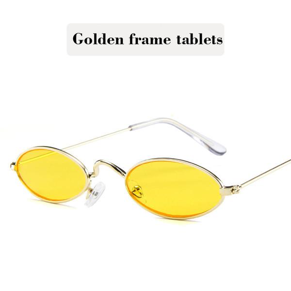 Golden frame tablets