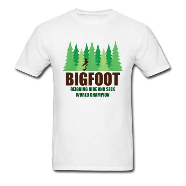 bcb13afe3 Green Forest Earth Day T Shirt For Men Bigfoot Sasquatch Hide And Seek Twin  Peaks T