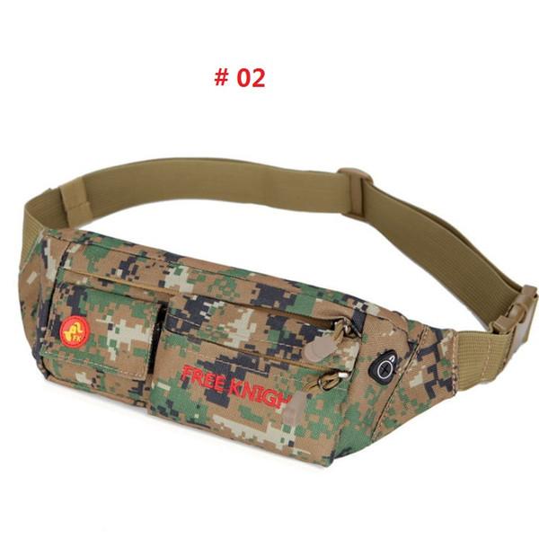 Unisex Outdoor Waist Pouch Multifunctional Belt Bum Sport Pack Zip Bag Lightweight Waist Bag For Jogging Camping/Hiking