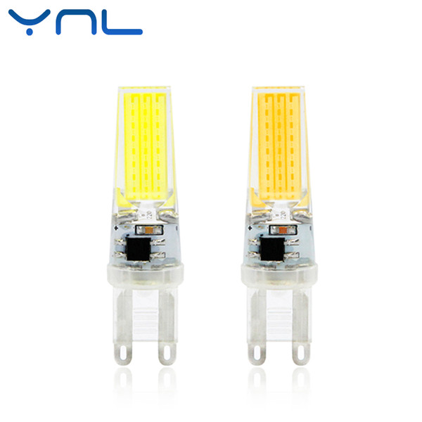 YNL LED Lamp G9 6W Dimmable COB AC 220V Mini COB LED G9 Bulb 360 Beam Angle Replace Halogen Crystal Chandelier Lights