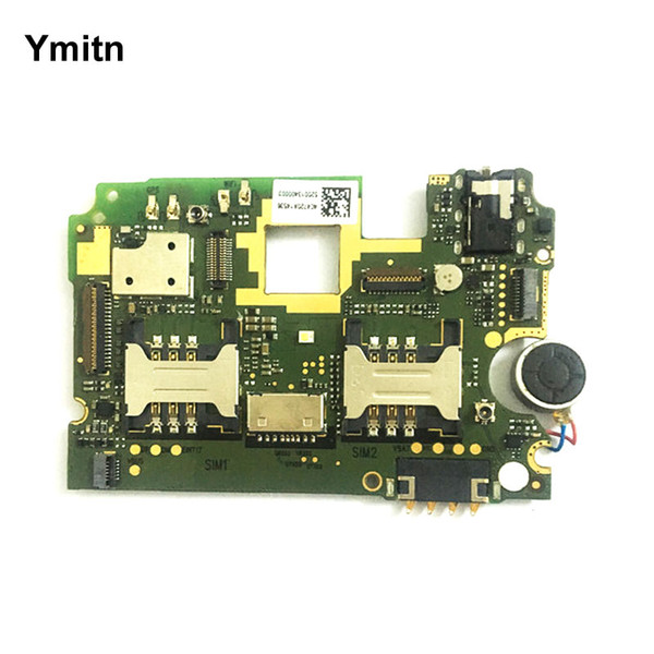 Ymitn Mobile Electronic panel mainboard Motherboard unlocked with chips Circuits flex Cable For Xiaomi RedMi hongmi Note 8GB
