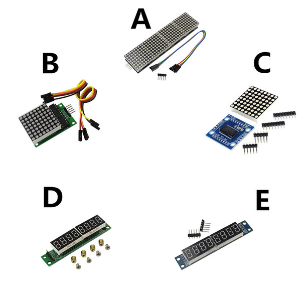 MAX7219 Dot Led Matrix Modul MCU Led-anzeige Steuermodul Kit für arduino DIY KIT
