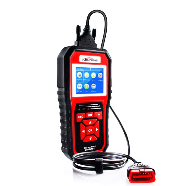 KW850 OBD2 OBD 2 Automotive Scanner Universal Scan tool for Engine Auto Code Reader Diagnostic Tool Better than ELM327
