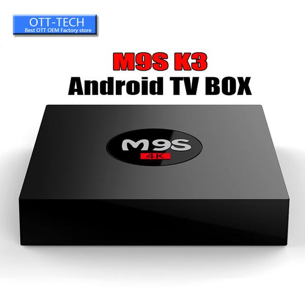 RK3229 M9S K3 android 6.0 tv boxes 4K HDR H.265 HEVC 3D play 1GB 8GB WIFI Internet TV Box BET MXQ PRO S905W TX3 MINI