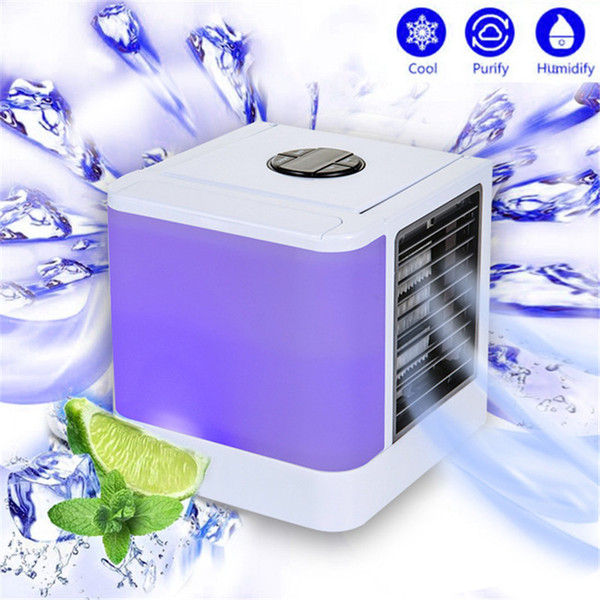 Air Personal Evaporative Air Cooler and Humidifier/Portable Air Conditioner mini fans Device cool soothing