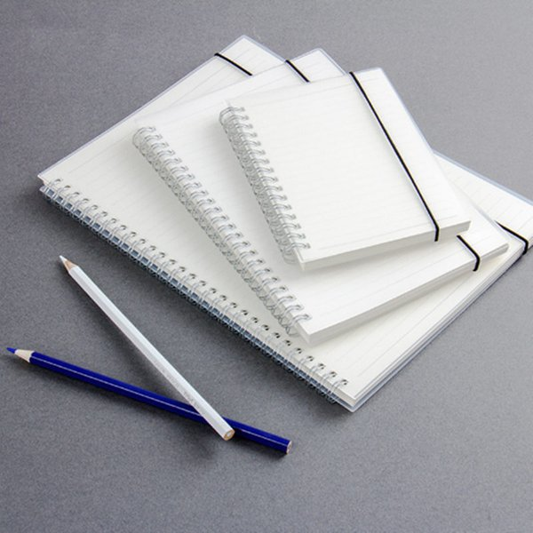 A6 Spiral Notebook coil Notepads Lined DOT Blank Grid Paper Journal Diary Sketchbook For School Supplies Stationery Store 150*114mm