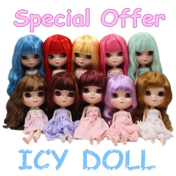 Special Offer ICY Doll like Blyth With Makeup Low Price Different Styles Nude Doll Suitable for DIY Free Shipping