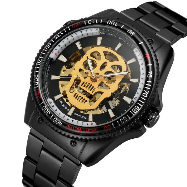 701068d59a24 Nuevo número de diseño deportivo Bisel Reloj dorado Relojes para hombre de  primeras marcas de lujo