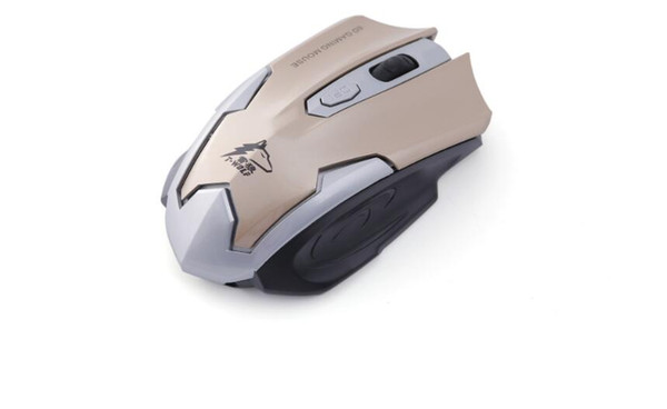 Game wireless mouse silent silent laptop power saving 6D Type photoelectric mouse Mouse size e (100-120mm)
