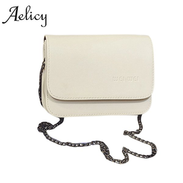 Aelicy Luxury chains woman designer bags luxury high quality new design pu leather ladies women's purses and hand bags women bag