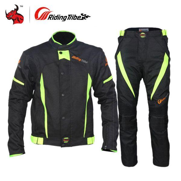 033b98acbde Chaqueta de moto RidingTribe Oxford Chaqueta Moto Moto de protección con la  chaqueta protectora de alta